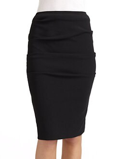 Nicole Miller - Tucked Pencil Skirt