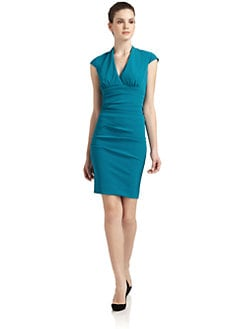 Nicole Miller - Cap Sleeve Dress