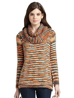 525 america - Oversized Detachable Cowlneck Sweater