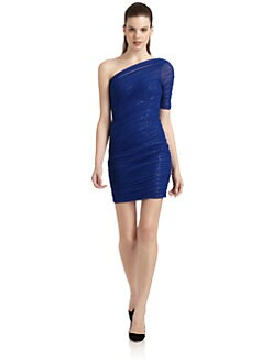 BCBGMAXAZRIA - Bojana Ruched Cocktail Dress