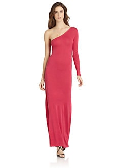 BCBGMAXAZRIA - Anadia One-Shoulder Maxi Dress