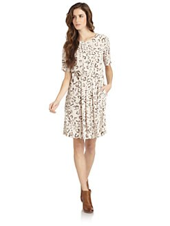 BCBGMAXAZRIA - Karia Leopard Dress