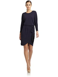 ERIN by Erin Fetherston - Belted Dolman Dress
