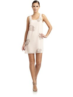 ERIN by Erin Fetherston - Beaded Rosette Dress