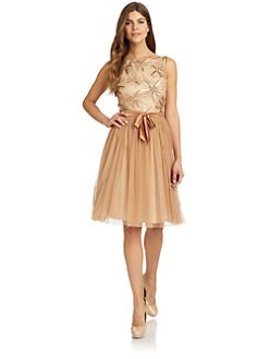 Aidan Mattox - Cutout Back Party Dress