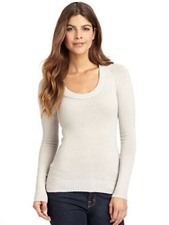INHABIT - Stretch Scoopneck Sweater
