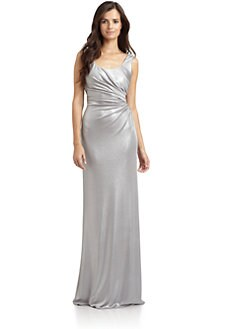 David Meister - Metallic Gown