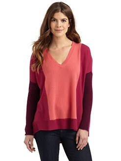 Cullen - Colorblock Cashmere Sweater