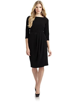 Lafayette 148 New York - Delfino Pleated Sheath Dress