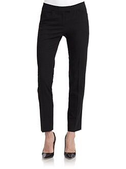 Lafayette 148 New York - Cropped Skinny Leg Trousers