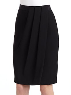 Lafayette 148 New York - Hartley Pleated Coccon Skirt