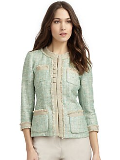 Lafayette 148 New York - Boucle Ribbon Jacket