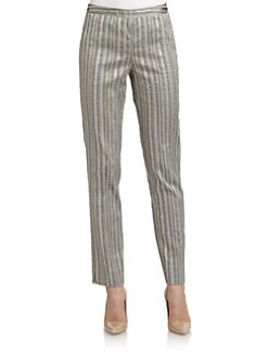 Lafayette 148 New York - Bleecker Striped Trousers