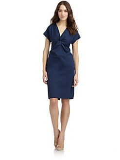 Lafayette 148 New York - Esmee Ruched Neck Dress