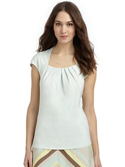 Lafayette 148 New York - Cap Sleeve Top