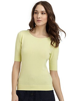 Lafayette 148 New York - Scoopneck Knit Top