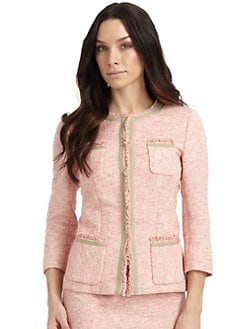 Lafayette 148 New York - Palermo Cotton Boucle Jacket