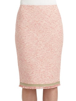 Lafayette 148 New York - Cotton Boucle Pencil Skirt