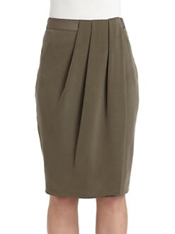 Lafayette 148 New York - Hartley Silk Tulip Skirt
