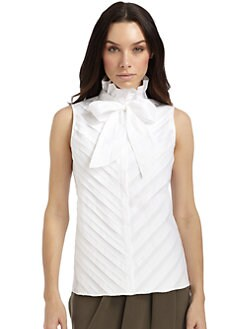 Lafayette 148 New York - Kenley Pleated Blouse
