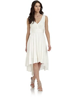 Suzi Chin - Gathered Sleeveless Dress