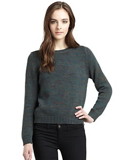 525 america - Cotton Boatneck Sweater