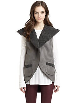 525 america - Reversible Faux Shearling Vest
