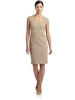 Magaschoni - Cap-Sleeve Sheath Dress