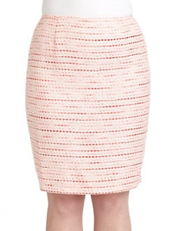 Lafayette 148 New York, Salon Z - Tweed Skirt