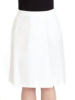 Lafayette 148 New York, Salon Z - Regis Front-Pleat Skirt