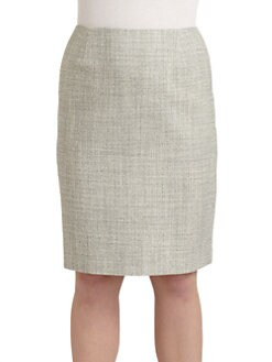 Lafayette 148 New York, Salon Z - Modern Tweed Pencil Skirt