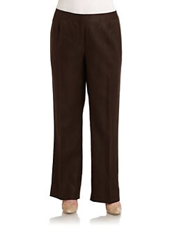 Lafayette 148 New York, Salon Z - Menswear Linen Pants