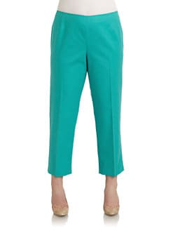 Lafayette 148 New York, Salon Z - Bleeker Cropped Pants