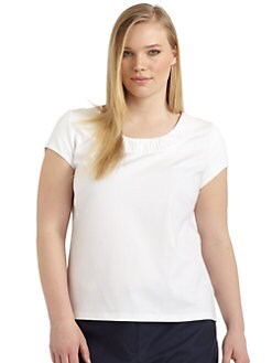 Lafayette 148 New York, Salon Z - Cap Sleeve Tee