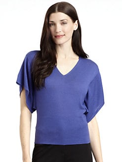 Josie Natori - Matai Silk & Cashmere Knit Top
