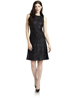 Josie Natori - Maidar Embroidered Cocktail Dress