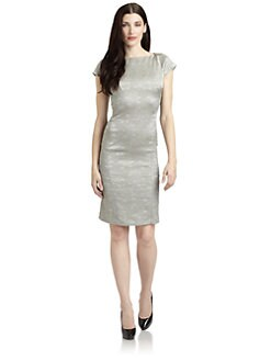 Josie Natori - Negan Brocade Dress