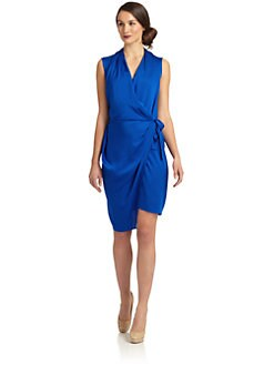 Rachel Roy - Silk Wrap Dress