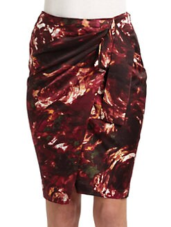 Rachel Roy - Rose Print Skirt