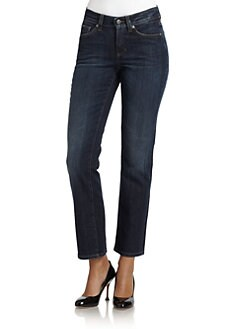 Cambio - Norah Slim Straight-Leg Jeans