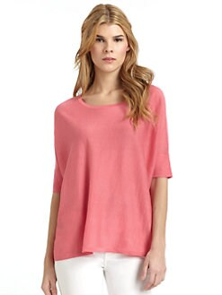 Magaschoni - Silk & Cotton Dolman Top