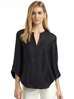 Rachel Roy - Silk Satin Blouse