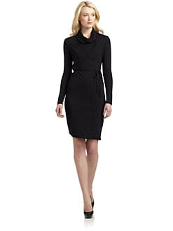 Elie Tahari - Lauren Zip Dress/Black