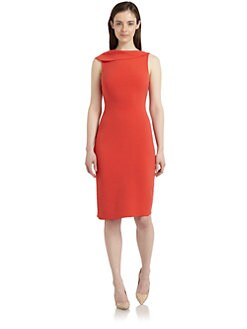 Rachel Roy - Asymmetrical Draped-Neck Sleeveless Dress