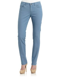 Lafayette 148 New York - Bella Chambray Denim Pants