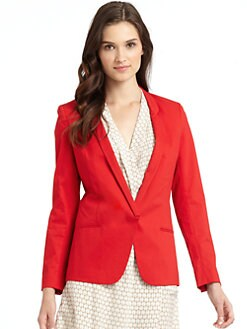 Vivienne Tam - Jagger Blazer/Red