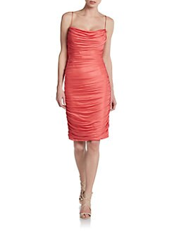 Carmen Marc Valvo - Ruched Dress