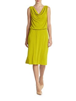 Josie Natori - Draped Jersey Dress