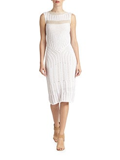 Josie Natori - Rai-Vung Knit Dress