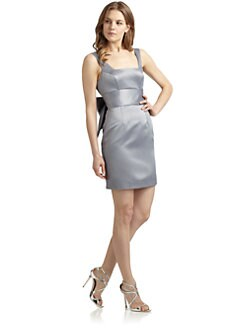 ABS - Bow Sheath Dress